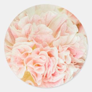 Soft and Fluffy flower Klistermärken