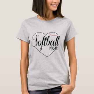 """Soft ball shirt """"pit Cher """""""