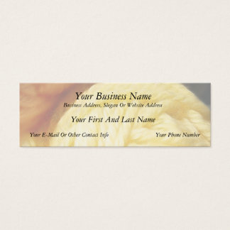 Soft Balls Of Yarn Mini Business Card
