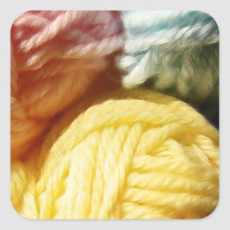 Soft Balls Of Yarn Stickers