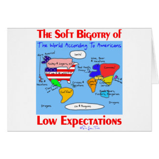 Soft Bigotry Of Low Expectations Greeting Card