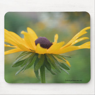 Soft Black Eyed Susan Flower Photo Mousepad