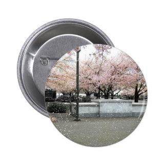 Soft Blossoms 6 Cm Round Badge