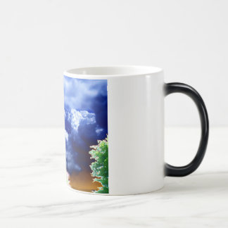 Soft Blue&Bright Green by KLM Magic Mug