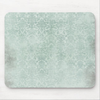 Soft Blue Damasks Pattern Mousepad