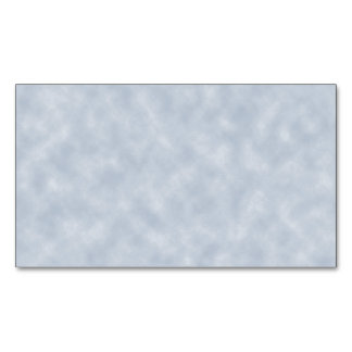 Soft Blue Parchment Look Magnetic Business Card