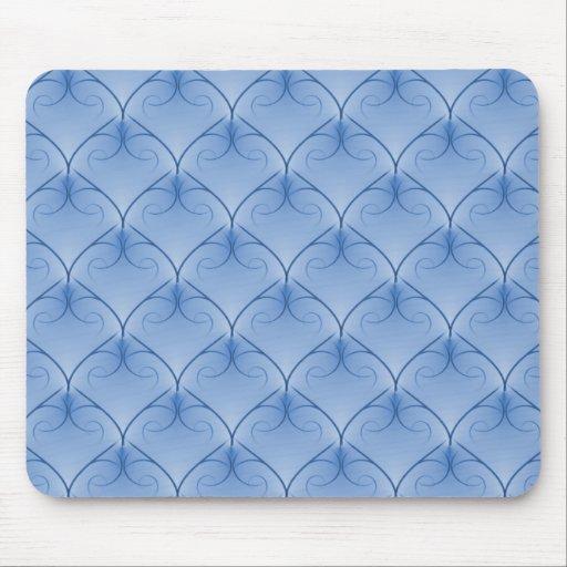 Soft Blue Unparalleled Elegance Mousepad