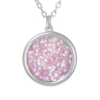 Soft Bokeh Glitter Sparkles Pendants