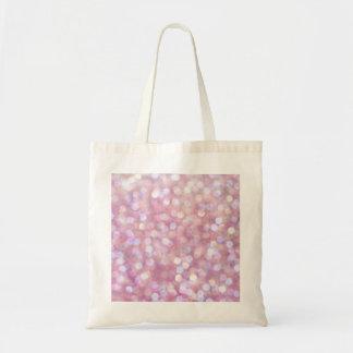 Soft Bokeh Glitter Sparkles Tote Bag