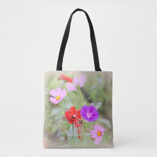 Soft Bouquet Tote Bag