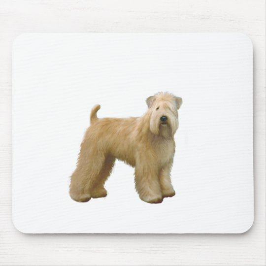 Soft Coated Wheaten Terrier (A)  - stand Mouse Mat