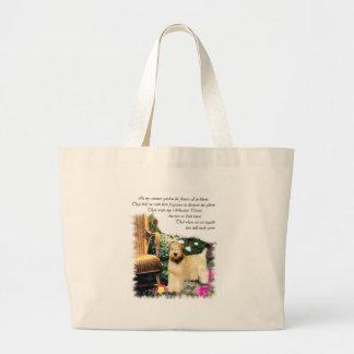 Soft Coated Wheaten Terrier Art Gifts Jumbo Tote Bag