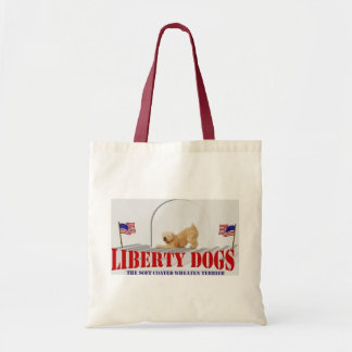 Soft-Coated Wheaten Terrier Canvas Bags