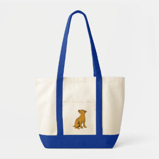 Soft Coated Wheaten Terrier Canvas Bags