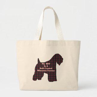 Soft Coated Wheaten Terrier BFF Gifts Jumbo Tote Bag