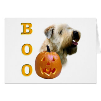 Soft Coated Wheaten Terrier Boo Card