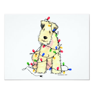 Soft Coated Wheaten Terrier - Christmas Card