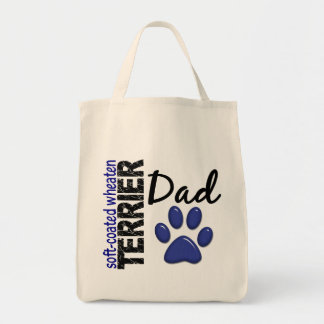 Soft-Coated Wheaten Terrier Dad 2 Tote Bag
