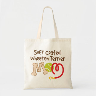 Soft Coated Wheaten Terrier Dog Breed Mom Gift Budget Tote Bag