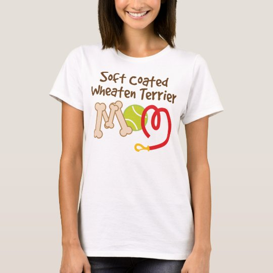 Soft Coated Wheaten Terrier Dog Breed Mum Gift T-Shirt