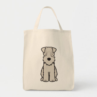 Soft Coated Wheaten Terrier Dog Cartoon