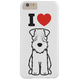 Soft Coated Wheaten Terrier Dog Cartoon Barely There iPhone 6 Plus Case
