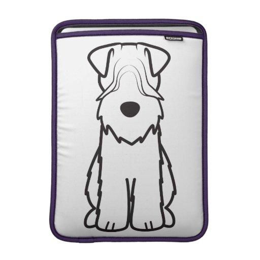 Soft Coated Wheaten Terrier Dog Cartoon MacBook Air Sleeves