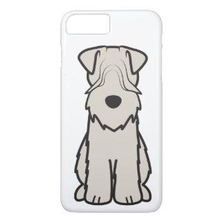 Soft Coated Wheaten Terrier Dog Cartoon iPhone 8 Plus/7 Plus Case