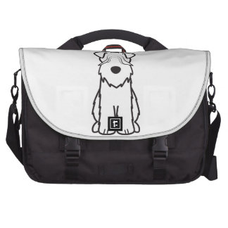 Soft Coated Wheaten Terrier Dog Cartoon Laptop Bag