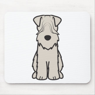 Soft Coated Wheaten Terrier Dog Cartoon Mouse Mat