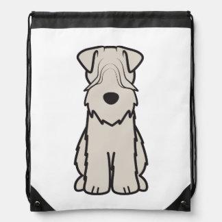 Soft Coated Wheaten Terrier Dog Cartoon Rucksack