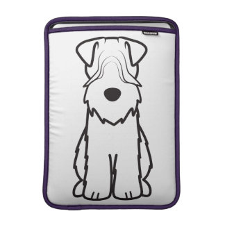 Soft Coated Wheaten Terrier Dog Cartoon Sleeve For MacBook Air