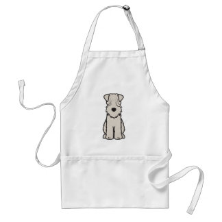 Soft Coated Wheaten Terrier Dog Cartoon Standard Apron