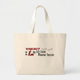 Soft Coated Wheaten Terrier Gifts Jumbo Tote Bag