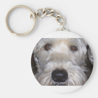 Soft Coated Wheaten Terrier Key Ring