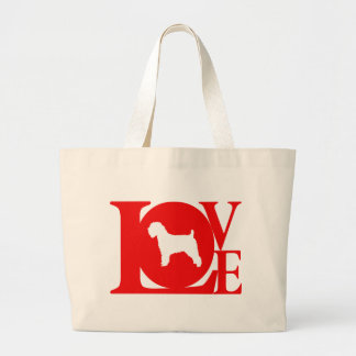 Soft Coated Wheaten Terrier Large Tote Bag