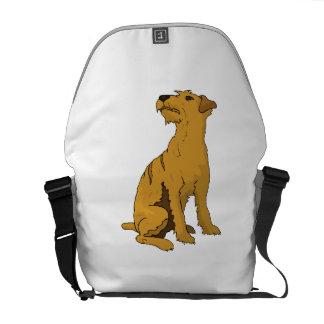 Soft Coated Wheaten Terrier Messenger Bag