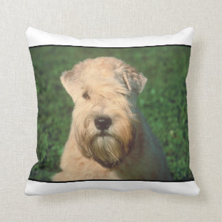 Soft Coated Wheaten Terrier MoJo Pillow