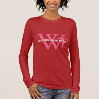 Soft-Coated Wheaten Terrier Monogram Long Sleeve T-Shirt
