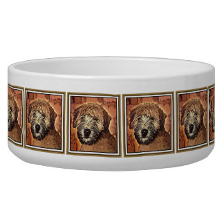 Soft Coated Wheaten Terrier Puppy Dog Dog Bowls