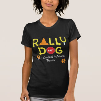 Soft Coated Wheaten Terrier Rally Dog Tshirts