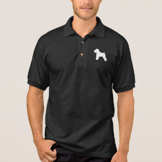 Soft Coated Wheaten Terrier Silhouette Polo Shirts