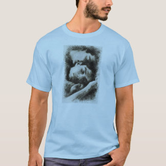 Soft color in outstanding print T-Shirt