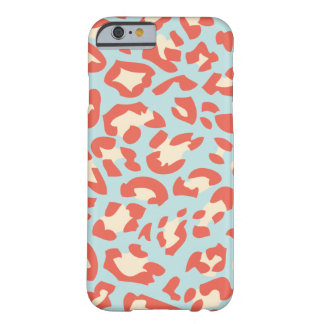 Soft Colour Leopard fur Pattern iPhone 6 case Barely There iPhone 6 Case
