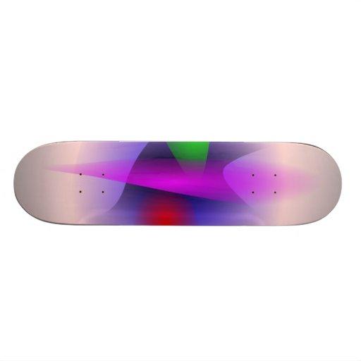 Soft Contrast Custom Skate Board