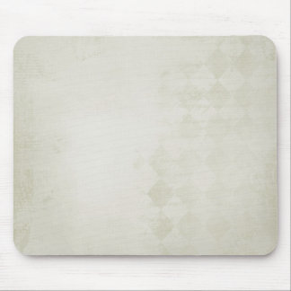 soft Cream Diamond Pattern Mouse Pad