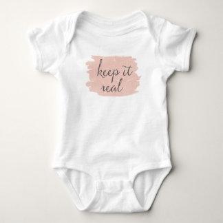Soft Deco III | Keep It Real Baby Bodysuit