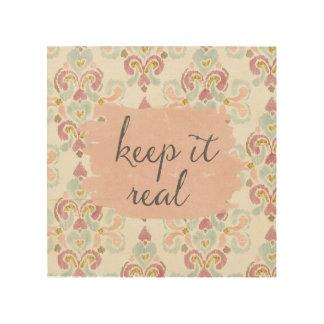 Soft Deco III | Keep It Real Wood Wall Decor