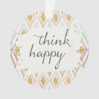 Soft Deco V | Think Happy Ornament