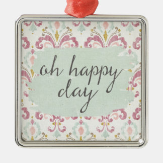 Soft Deco VI | Oh Happy Day Christmas Ornament